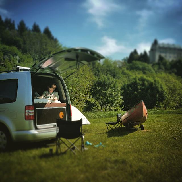 Met een QuQuQ duurzaam Minicamper boxsysteem geniet u van alle vrijheid, dat heerlijke kampeer- en campergevoel en van een forse kostenbesparing vergeleken met een conventionele camper.