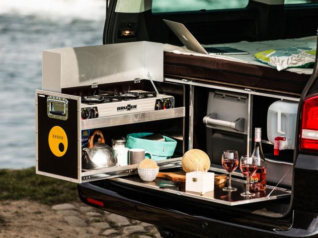 QuQuQ Minicamper box Transformeer uw bestelwagen/combi/MPV binnen enkele minuten in een robuuste Minicamper.